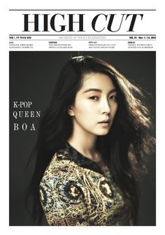 BoA looks regal as the 'K-Pop Queen' for High Cut magazine #allkpop #kpop #Boa
