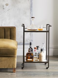 Casa Botelho - BACCO DRINKS TROLLEY