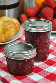 Jam Recipes, Vegan Recipes Easy, Crockpot Recipes, Cooking Recipes, Cooking Jam, Recipies, Instant Pot, Easy Jam Recipe, Pots