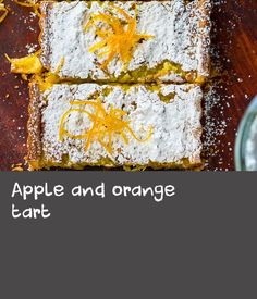Apple and orange tart Apple Recipes Easy, Corn Recipes, Orange Recipes, Slow Cooker Recipes, Beef Recipes, Vegetarian Recipes, Pheasant Recipes, Orange Beef, Cooked Apples