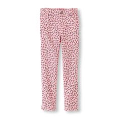 The Childrens Place - The jeggings your girl loves in a girly pink leopard print!