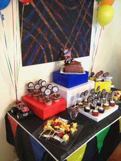 Monster Trucks Birthday Party Ideas | Photo 12 of 14 | Catch My Party
