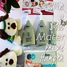 Win a Mater Mothers' Hospital baby gift pack value at $100 - Celebrating 10,000 babies born at the Hospital!