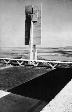 priory of the annunciation, bismarck, north dakota, 1956-63    (Marcel Breuer & Associates)