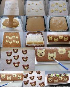chocolate bear roll