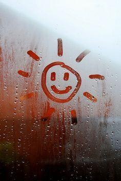 Rain Rain Go Away. - You can't change the weather but you can choose your outlook… (Rain ✿⊱╮Teresa Restegui ww - I Love Rain, Rain Go Away, Going To Rain, Montage Photo, Rain Drops, Rainy Days, Belle Photo, Statues, Artsy