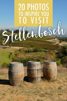 Home to beautiful boutique hotels, world class winelands and one of the best farm-to-table scenes I've ever seen, here's why you need to visit Stellenbosch! Oh The Places You'll Go, Cool Places To Visit, Cities In Africa, Relaxing Places, Cape Town South Africa, Ultimate Travel, Africa Travel, Travel Goals, Trip Planning