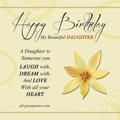 Image result for quotes for daughters birthday card