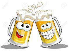 Animated Smiley Faces, Funny Emoji Faces, Funny Emoticons, Smileys, Cheers Emoji, Beer Cartoon, Beer Images, Morning Girl, Emoji Symbols