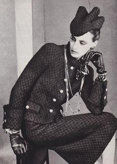 Ines de la Fressange, 1980's Chanel