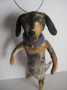 coonhound  (wonder if this could also be done by felting?)