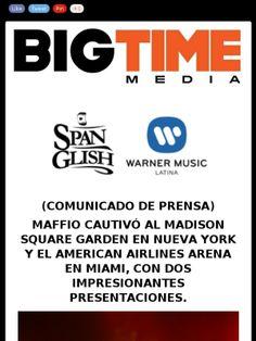 @Maffio Alkatraks conquisto el #MadisonSquareGarden de #NuevaYork y el #AmericanAirlinesArena de #Miami con su impresionante show. @bigtimemedia