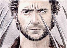 Hugh Jackman Wolverine from the XMen miniature by TheArtofWuWei, £2.00