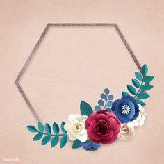 Flower Background Wallpaper, Flower Backgrounds, Earth Tone Wedding, Floral Banners, Instagram Frame, Flower Frame, Free Illustrations, Flower Crafts, Free Design