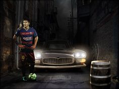 """Check out my @Behance project: """"Messi Alleyway - Photo Manipulation"""" https://www.behance.net/gallery/59049305/Messi-Alleyway-Photo-Manipulation"""