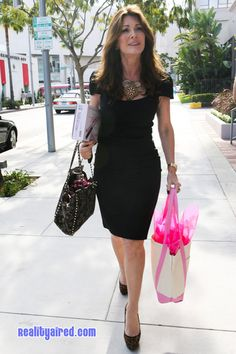 Lisa Vanderpump, I hope I'm as fabulous, classy & sassy as her as I age haha.