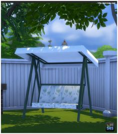 Simista: Shaded Seat • Sims 4 Downloads