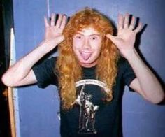 Image in Boys with long hair collection by Daddy's little psycho Thrash Metal, Nick Menza, Marty Friedman, David Ellefson, Dave Mustaine, Boys Long Hairstyles, Meme Pictures, Daddys Little, Heavy Metal Bands