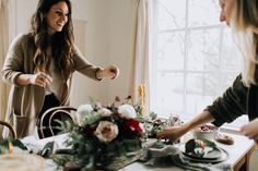 A Curated Holiday Gathering at Home   Bohemian Home Decor: Bomisch