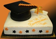 Perfect Graduation Sheet Cake