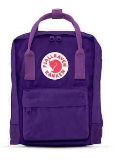 e8a873044 Fjallraven Kanken Mini Backpack Purple Violet | Bill & Paul's | Grand  Rapids, ...