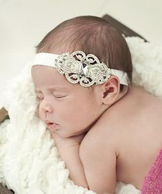 Take a look at the Nest Of Many Colors Silver Bling Dream Headband on today! Girl Hair Bows, Baby Girl Headbands, Diy Headband, Little Girl Hairstyles, Headband Hairstyles, Different Colors, Little Girls, Bling, Nest