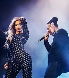 Beyonce and jay-z MCWT London