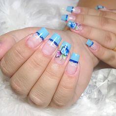 Aycrlic Nails, Love Nails, Coffin Nails, Pretty Nails, Fall Nail Art Designs, Colorful Nail Designs, Toe Nail Designs, Nail Painting Tips, Nail Designer