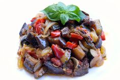 Faster ratatouille to achieve, lighter than the real long version, but equally delicious with tender vegetables ...