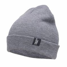 Knitted Winter Solid Color Hip-hop Cap - FashionandLove.com