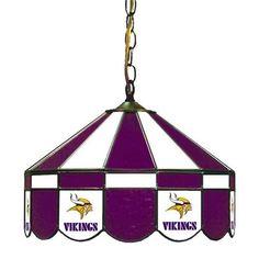 Imperial International Minnesota Vikings Swag Glass Lamp