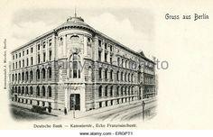 Deutsche Bank.. Kanonierstrasse ecke  Französische straße