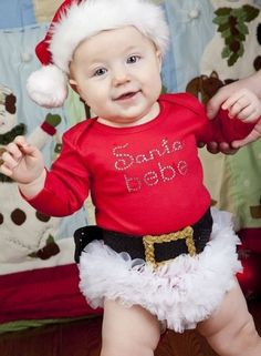 Baby Christmas Outfits, Infant Santa Outfit
