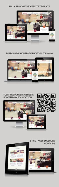 Hexagonal – Clean Multipurpose Responsive Website on Behance