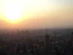 Sunset From Cairo tower - 2011