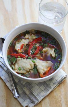 Hot & Sour Dumpling Soup