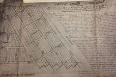 The 1888 map laying out the South Shore subdivision shows where Lake Park Avenue, originally called Lake Avenue, was.