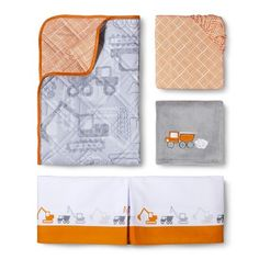 Circo�� Dream Truck'n 4pc Crib Bedding Set