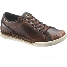 Caterpillar-Shoes-Men-Jed-Sneakers-LEATHER-Work-Casual-Shoes-CAT-Oxford-Lace-Up