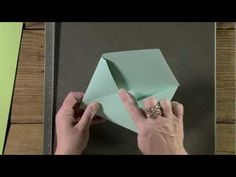 Great instructions on using SU's new diagonal scoring tool to make envelopes - from Mary Fish