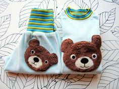 Tričko s dlouhým rukávem / mikina s medvídkem Slippers, Design, Slipper, Flip Flops, Sandal