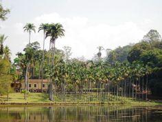 Casarão onde viveu Navarro de Andrade.