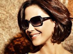 Seven Fashion Short Hairs with Sunglasses - Dazhimen Asian Short Hair, Short Hairstyles For Thick Hair, Short Wavy Hair, Hair Styles For Women Over 50, Medium Hair Styles, Short Hair Styles, Layered Hair, Hairstyles Haircuts, Hair Dos
