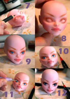 Monster High Repaint Tutorial PG 2 by ~retrogradeworks on deviantART