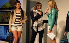 #Model. #Katrin #Roth und #Sara #Hildebrand beim #Modetalk am #Modetag im #Emmen #Center.