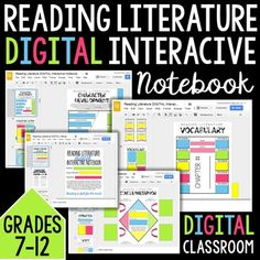 Digital GOOGLE DRIVE Reading Literature Interactive Notebook: Grades 6-9This interactive notebook is perfect for any piece of literature. In fact, I would encourage multiple pieces of literature and use it for an entire semester or school year. The product features include:-Inclusive Google Drive Digital Interactive Notebook-Organized formatting-Perfect for differentiated classes in grades 6-10 (depending on level)-50+ pages of interactive activities-Picture examples of setup/directions-5…