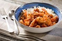 Shrimp with Spicy Creole Sauce Recipe
