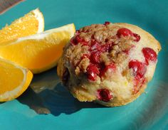 Cranberry and Crumb Top Muffins