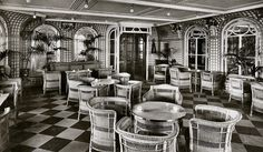 the verdana and palm court cafe....one of the most awesome place into olympic