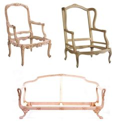 French chair frames